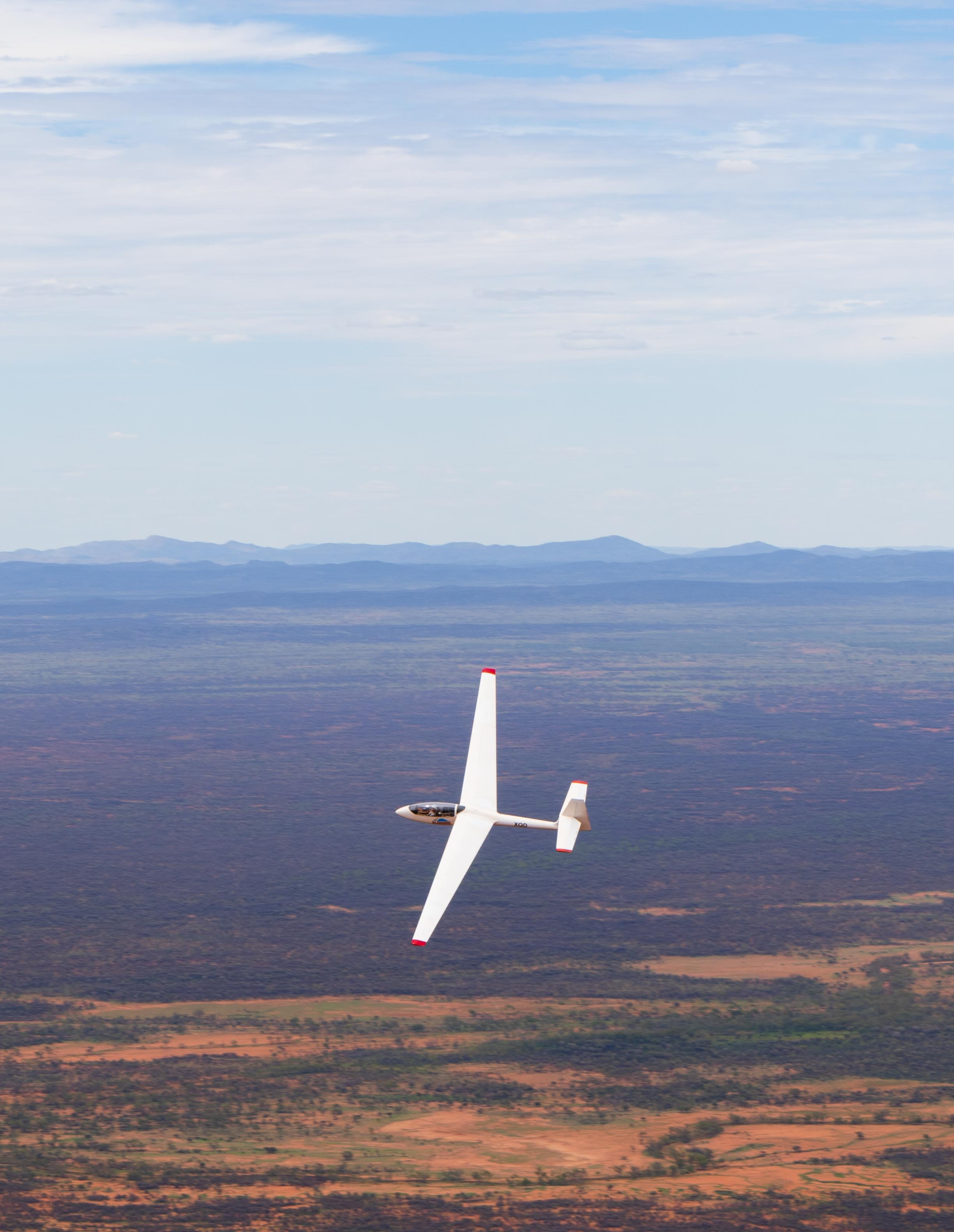 The pathway to become a glider pilot